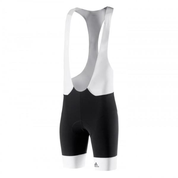ADIDAS Adistar Bib Shorts, black-white