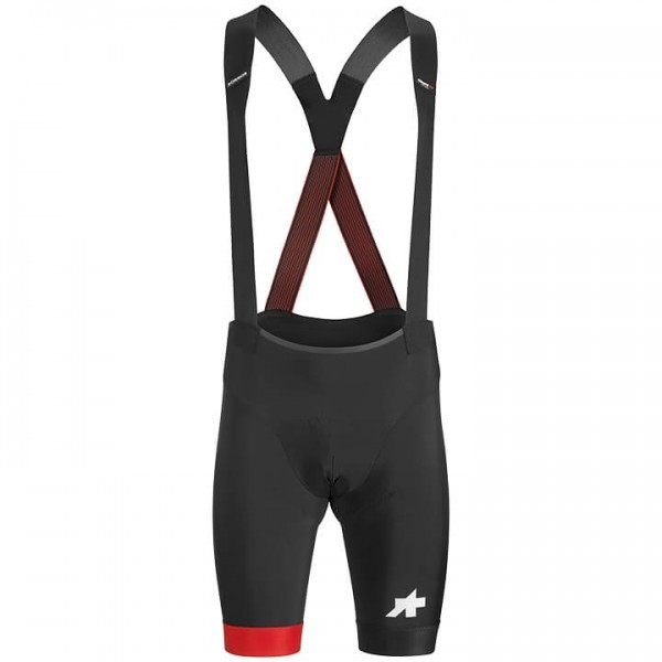 ASSOS T Equipe RS S9 Bib Shorts black - red