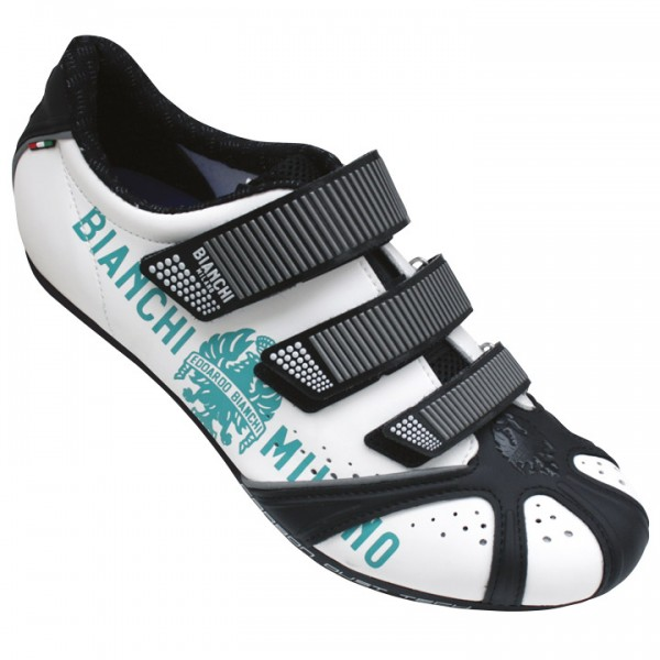 BIANCHI MILANO Octopus BM 2018 Road Shoes white-black-celeste