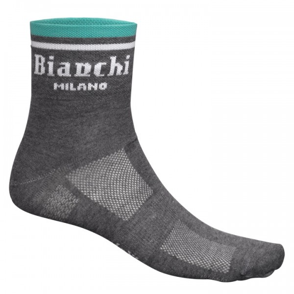 BIANCHI MILANO Riva Cycling Socks grey mottled