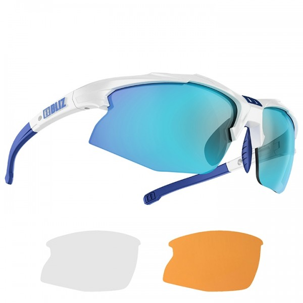 BLIZ Lady Hybrid Smallface 2019 Eyewear Set white