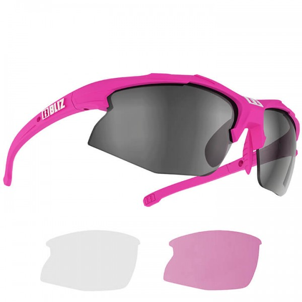 BLIZ Lady Hybrid Smallface 2019 Eyewear Set fuchsia