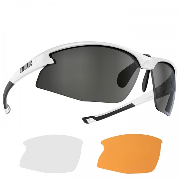 BLIZ Motion + 2019 Eyewear Set white
