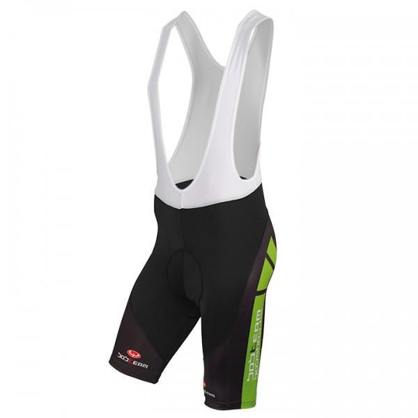BOBTEAM COLORS Bib Shorts black-green black - green