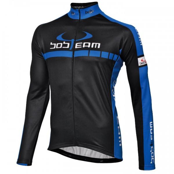 BOBTEAM COLORS Long Sleeve Jersey black-blue black - blue