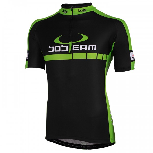 BOBTEAM COLORS Short Sleeve Jersey black-green black - green