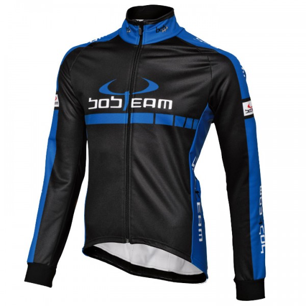 BOBTEAM COLORS Thermal Jacket black-blue black - blue