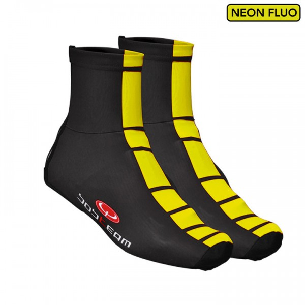 BOBTEAM COLORS Thermal Shoe Covers black-fluo black