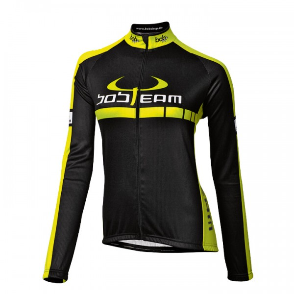 BOBTEAM COLORS Jersey black-neon yellow neon yellow - black