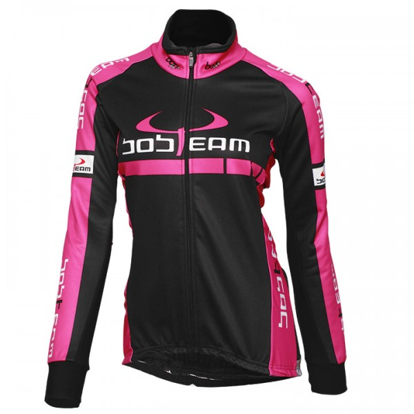 BOBTEAM COLORS Thermal Jacket black-pink black - fuchsia