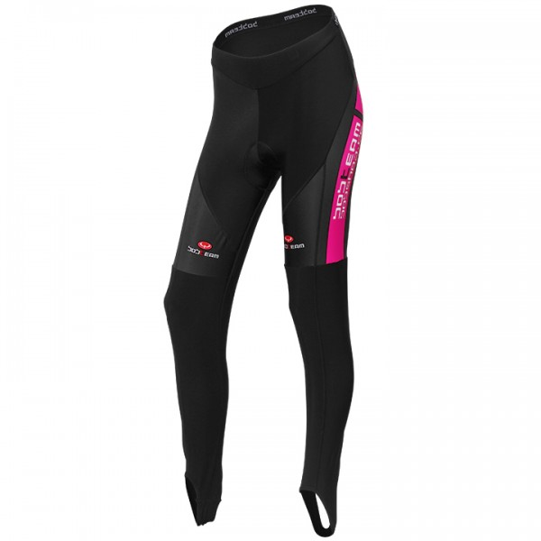 BOBTEAM COLORS Tights black-pink black - fuchsia