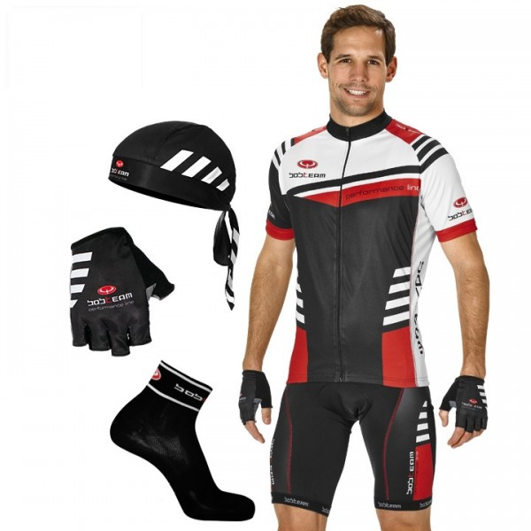 Maxi-Set (5 pieces) BOBTEAM PERFORMANCE III black-white-red