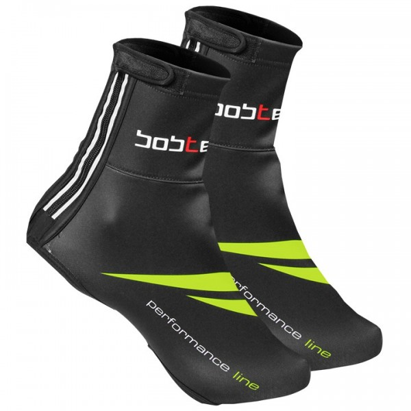 BOBTEAM PERFORMANCE LINE Thermal Shoe Covers neon yellow - black