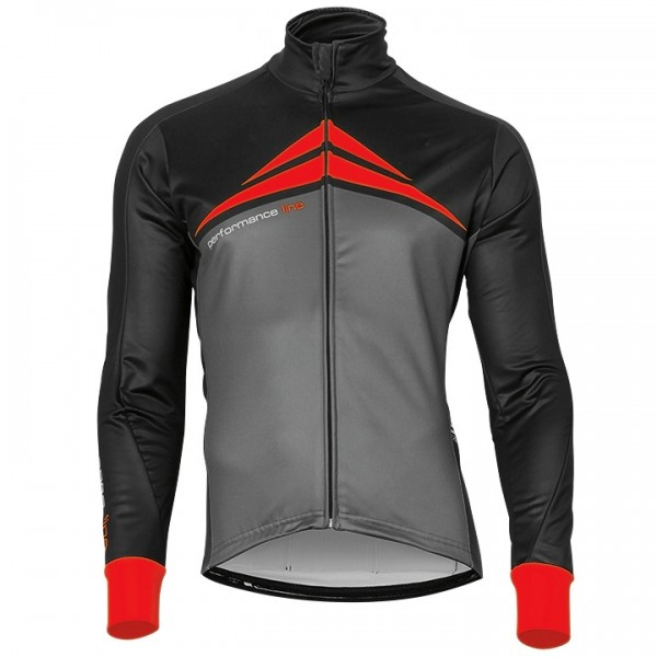 BOBTEAM PERFORMANCE LINE Winter Jacket grey - black - red - multicoloured