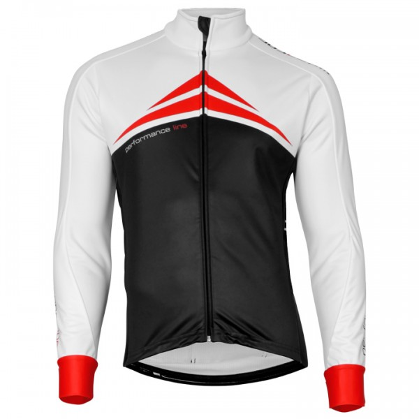 BOBTEAM PERFORMANCE LINE Winter Jacket white - black - red - multicoloured