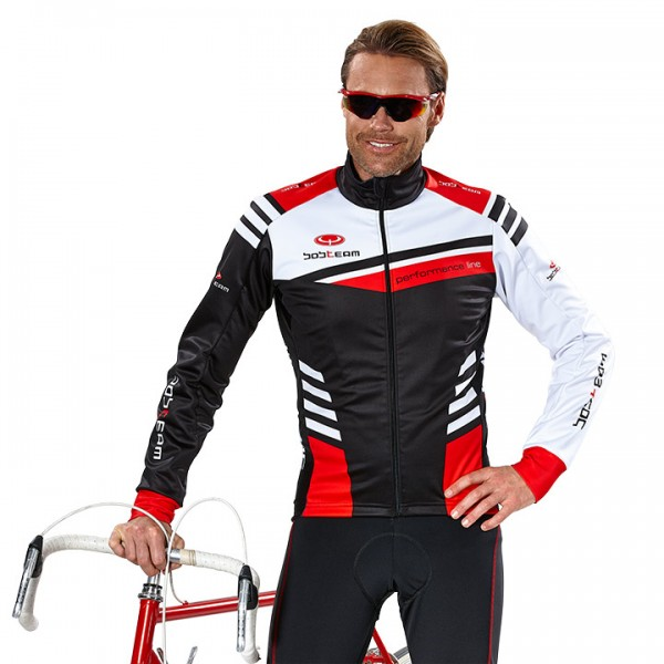 BOBTEAM PERFORMANCE LINE III Winter Jacket black-white-red white - black - red - multicoloured