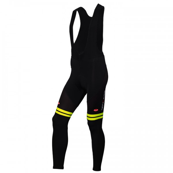 BOBTEAM Pro Bib Tights black-neon yellow neon yellow - black