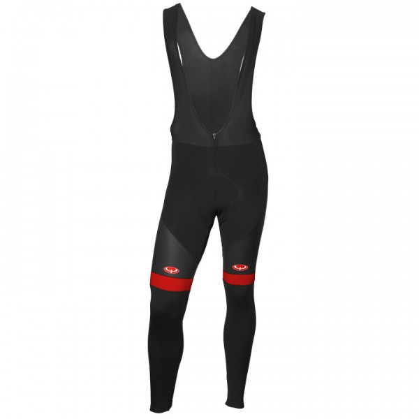 BOBTEAM Pro II Bib Tights black - red