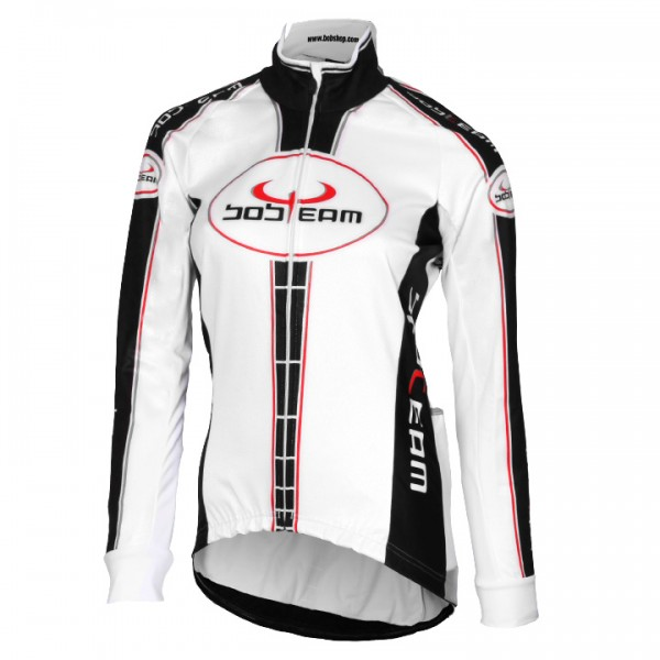 BOBTEAM Winter Jacket, white-black white - black
