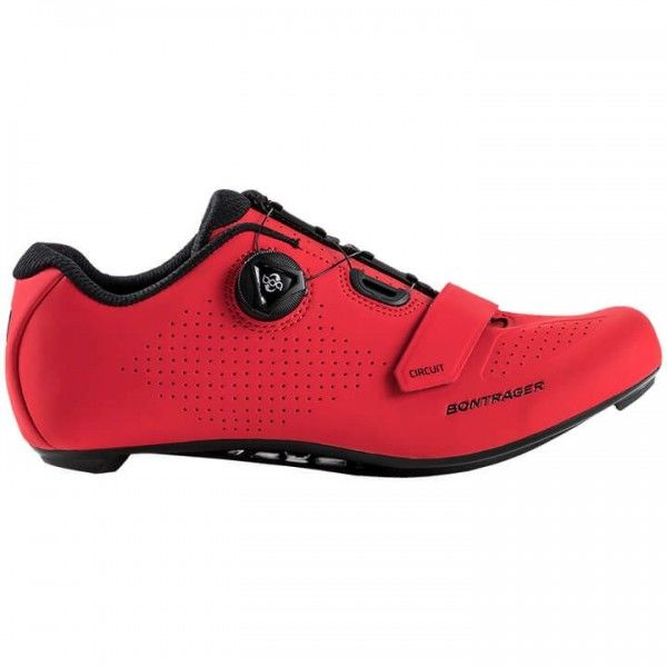 BONTRAGER Circuit 2019 Road Bike Shoes red