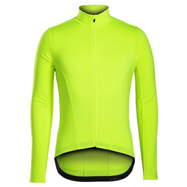 BONTRAGER Velocis Long Sleeve Jersey neon yellow