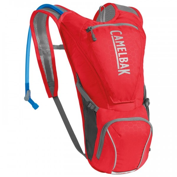 CAMELBAK Rogue 2,5l Hydration Pack silver - red