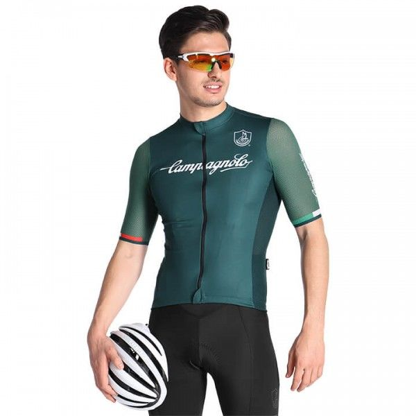 CAMPAGNOLO Iridio Short Sleeve Jersey green