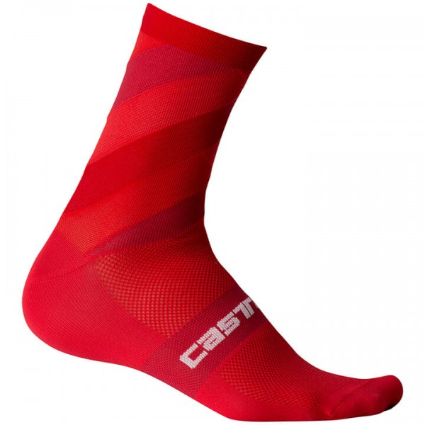 CASTELLI Free Kit 13 Cycling Socks red