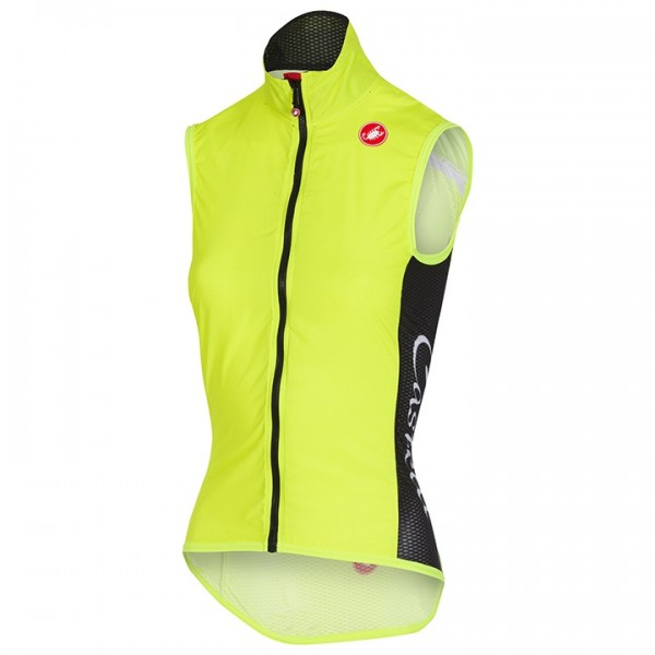 CASTELLI Pro Light Wind Vest neon yellow