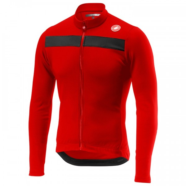 CASTELLI Puro 3 Long Sleeve Jersey red