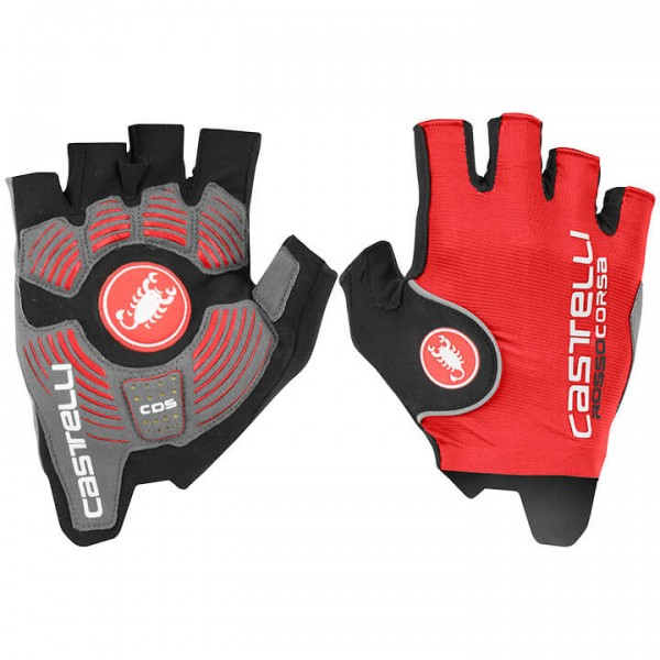 CASTELLI Rosso Corsa Pro Cycling Gloves red