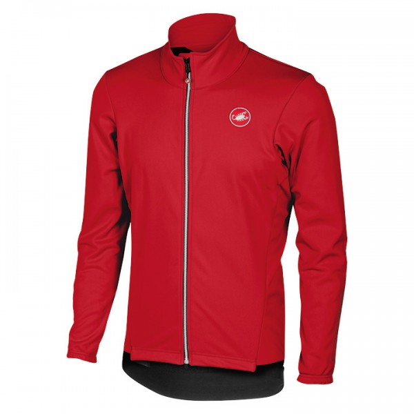 CASTELLI Senza 2 Winter Jacket, red