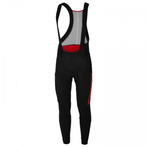 CASTELLI Sorpasso 2 Bib Tights black - red