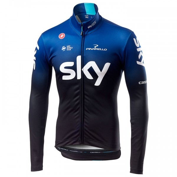 Team Sky 2019 Long Sleeve Jersey