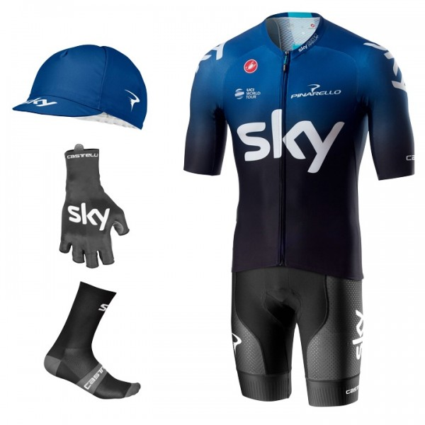 TEAM SKY Aero 2019 Maxi-Set (5 pieces)
