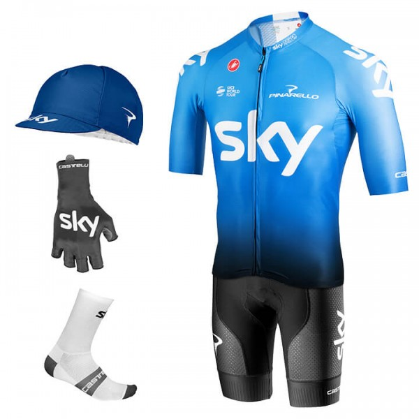 TEAM SKY Aero Training 2019 Maxi-Set (5 pieces)