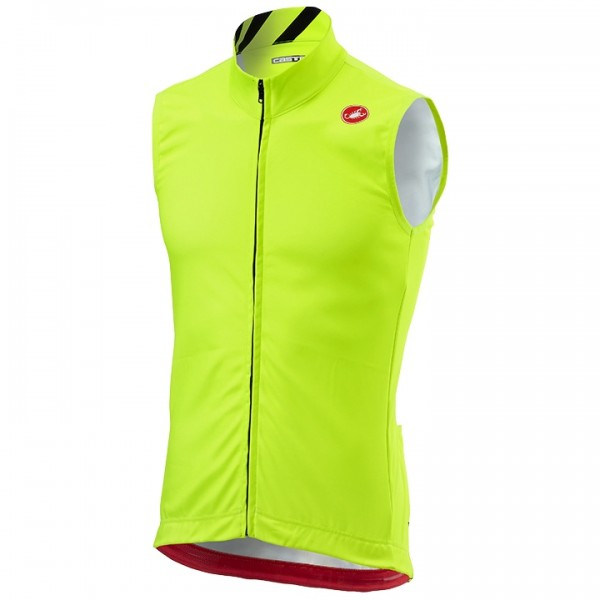 CASTELLI Thermal Pro Thermal Vest neon yellow