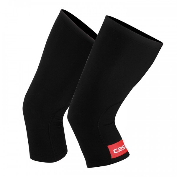 CASTELLI Thermoflex Knee Warmers black-red