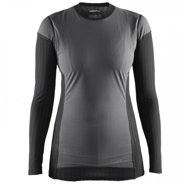 CRAFT Active Extreme 2.0 Windstopper Long Sleeve Base Layer, black-grey