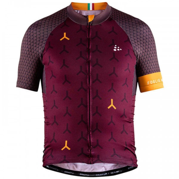 Craft MONUMENTS GDL Foglie Morte 2018 Short Sleeve Jersey