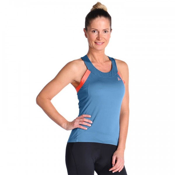 CRAFT Hale Glow Cycling Top blue - orange