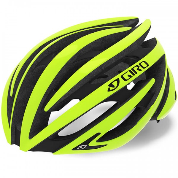 GIRO Aeon 2019 Road Bike Helmet black - yellow