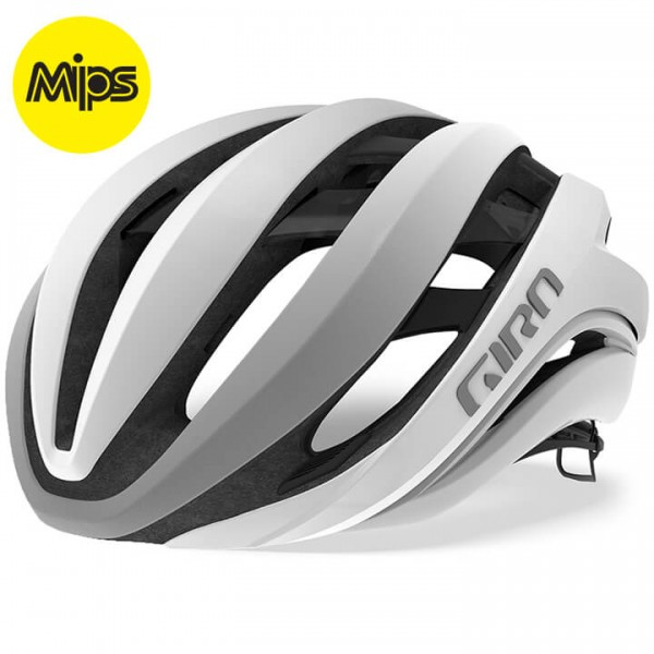 GIRO Aether Mips 2019 Road Bike Helmet white - silver