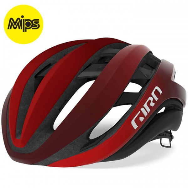 GIRO Aether Mips 2019 Road Bike Helmet black - red