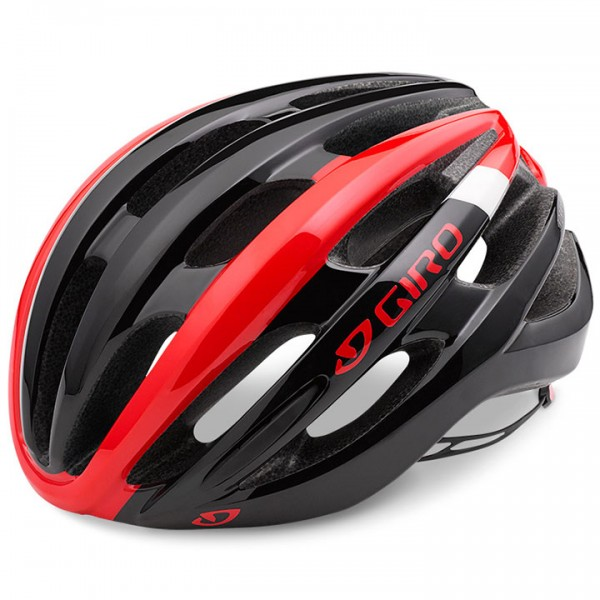 GIRO Foray Mips 2019 Cycling Helmet white - black - red - multicoloured