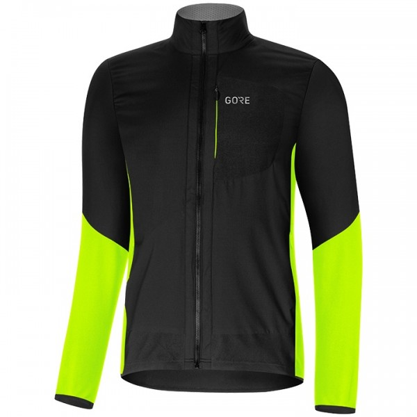 GORE C5 Gore Windstopper Insulated Winter Jacket neon yellow - black