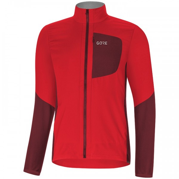 GORE C5 Gore Windstopper Insulated Winter Jacket red