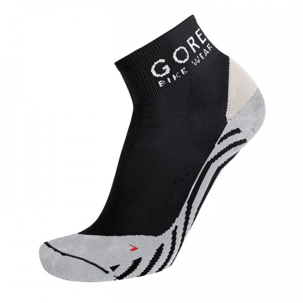 GORE Contest Cycling Socks, black-white