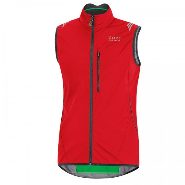 GORE Element WS AS Wind Vest red