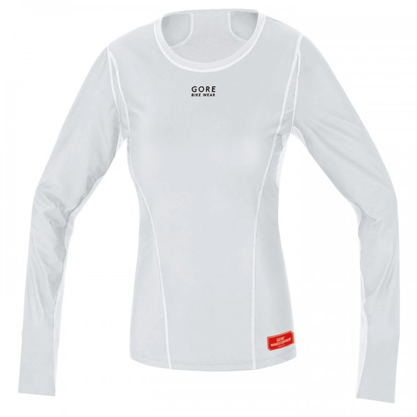 GORE Thermo WS Long Sleeve Base Layer, light grey-white